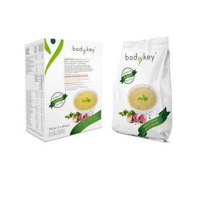 Азиатский куриный суп, заменяющий прием пищи bodykey by NUTRILITE™