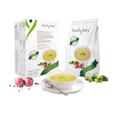 Asian Chicken Style Meal Replacement Soup  bodykey by NUTRILITE™