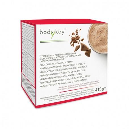 Кремовый микс со вкусом шоколада, пониженное содержание жиров bodykey™