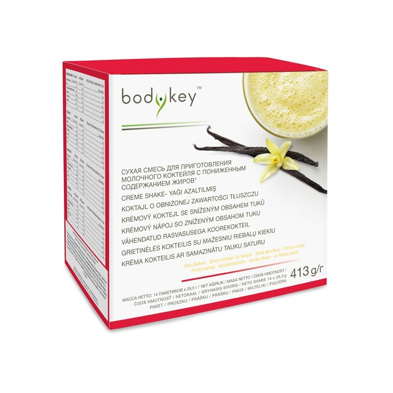 Fat reduced vanilla shake bodykey™