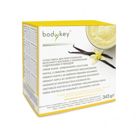 Carb reduced vanilla shake bodykey™