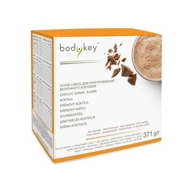 Кремовый микс со вкусом шоколада, сбалансированное содержание питательных веществ bodykey™