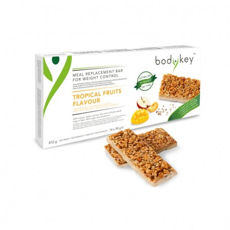 Батончик - заменитель питания со вкусом тропических фруктов bodykey от NUTRILITE™
