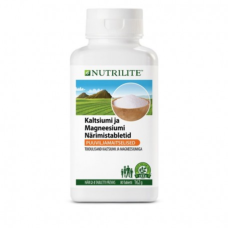 Кальций Магний, жевательные таблетки NUTRILITE™