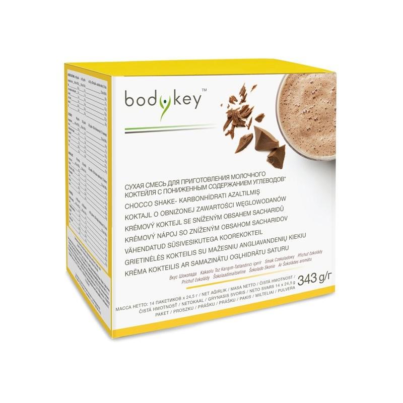Carb reduced chocolate shake bodykey™