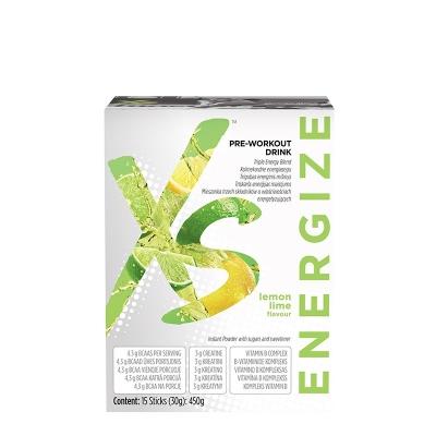 XS™ Предтренировочный напиток со вкусом лимона и лайма