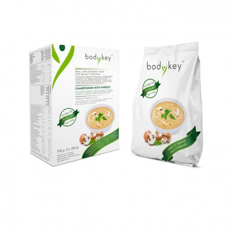 Суп из шампиньонов с петрушкой, заменяющий прием пищи bodykey by NUTRILITE™