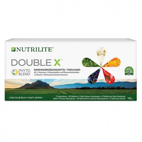 Контейнер с поливитаминной/мультиминеральной/ фитопитательной диетической добавкой DOUBLE X™ NUTRIL