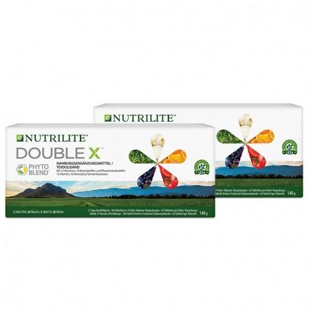 Сменная упаковка поливитаминной/мультиминеральной/фитопитательной диетической добавки DOUBLE X™
