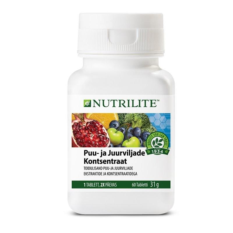 Puu- ja juurviljade kontsentraat NUTRILITE™