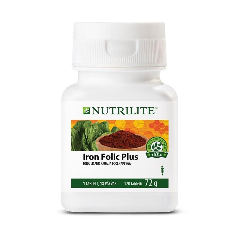 Железо плюс фолиевая кислота NUTRILITE™